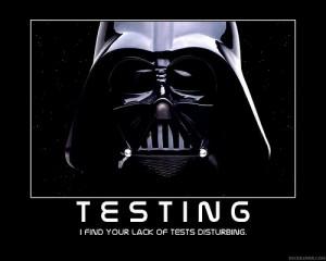 Testing Darth Vader